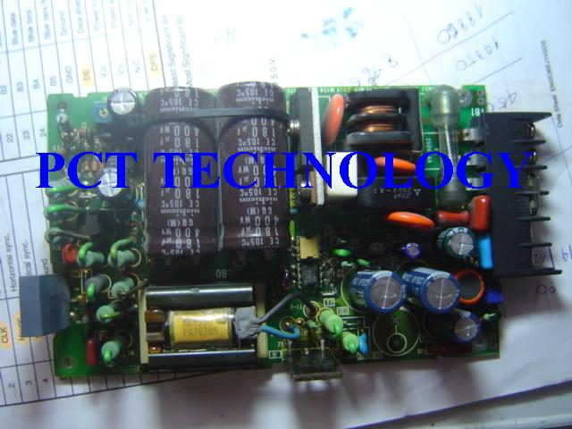 A switched-mode power supply (SMPS) works on a different principle. AC mains input is directly rectified without the use of a transformer, to obtain a DC voltage รับซ่อม Power supply . This voltage is then sliced into small pieces by a high-speed electronic switch. The size of these slices grows larger as power output requirements increase ซ่อม Power supply .The input power slicing occurs at a very high speed (typically 10 kHz — 1 MHz). High frequency and high voltages in this first stage permit much smaller step down transformers than are in a linear power supply. After the transformer secondary, the AC is again rectified to DC. To keep output voltage constant, the power supply needs a sophisticated feedback controller to monitor current draw by the load.